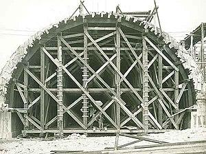 Falsework - Arch Ring and Falsework, 1932