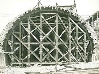 Falsework Temporary structures used in construction site