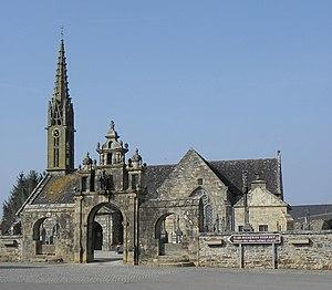 Argol Parish close - The parish church at Argol