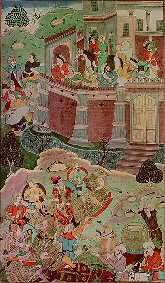 Toluid Civil War - Ariq Böke's victory against Alghu