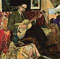 Armando Basto, O meu violão não tem cordas, 1918, óleo sobre tela, 104,5 x 104,5 cm.jpg