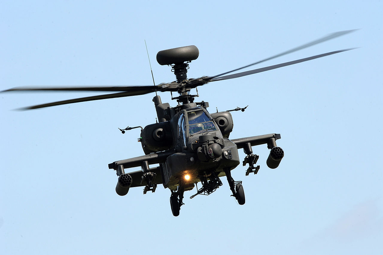File:Army Air Corps Apache Attack Helicopter MOD 45155703 ...