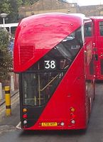 Arriva London North bus LT1 (LT61 AHT), route 38, 19 September 2012 (2).jpg