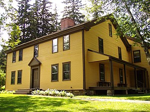 English: Arrowhead (home of Herman Melville), ...