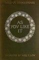 As you like it; a pleasant comedy (IA asyoulikeitpleas00shakiala).pdf