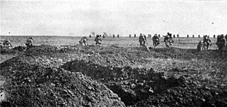 Chemin des Dames - French assault on the Chemin des Dames during the Second Battle of the Aisne