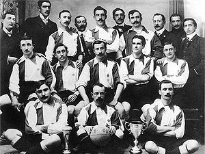 Athletic Bilbao - Athletic Club with the first Copa del Rey in 1903.
