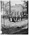 Atlanta, Georgia. Federal officers standing in front of house. (Formerly headquarters of Gen. John Bell Hood.) LOC cwpb.03389.jpg
