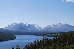 Atnsjøen and Rondane in June 2009