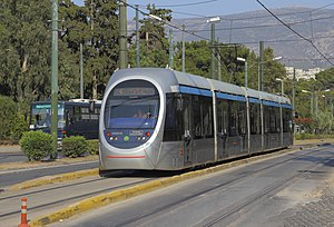 Athens Mass Transit System - Image: Attica 06 13 Athens 26 Tram