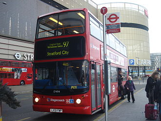 Queen Elizabeth Olympic Park - Stratford City bus station