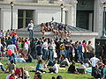 Audience on Memorial Glade for Cold War Kids concert at Cal Day 2010 1.JPG