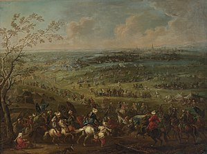 Battle of Vienna - The Ottomans before the walls of Vienna