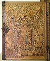 Augusta o tirolo, stipo da lavoro in legno di ciliegio con intarsi, 1550-1600 ca. 02.jpg