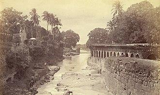 Neher water system - Kham river Aurangabad 1860s