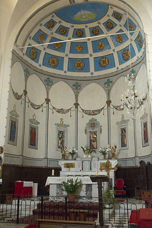 Auribeau-sur-Siagne - The Altar of the Chapel