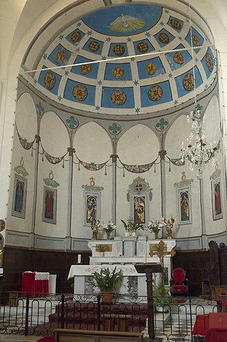 Auribeau-sur-Siagne - The Altar of the Chapel