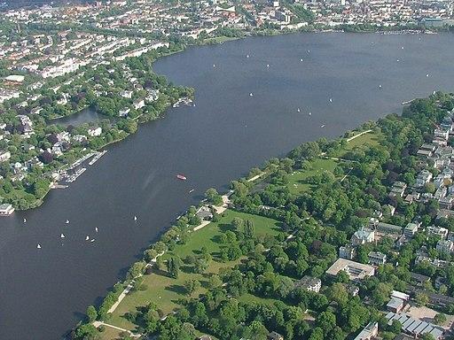 Alstervorland an der Außenalster (Hamburg)