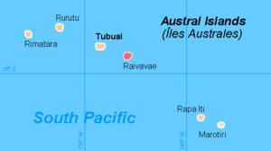 Raivavae - Image: Austral isl Raivavae