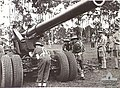 Australians training with 155 mm gun Queensland Feb 1945 AWM 086726.jpeg