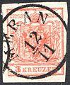 Austria 1850 3Kr IIIa HP MERAN.jpg
