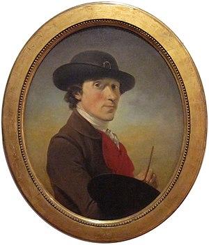 Peter Falconet - Self-portrait, around 1770.