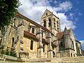 Auvers-sur-Oise (95), église Notre-Dame, depuis le sud-ouest.jpg