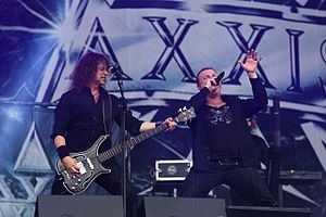 Axxis - Axxis concert on Rockharz festival 2016 in Germany