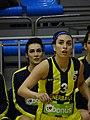 Ayşe Cora Fenerbahçe Women's Basketball vs Mersin Büyükşehir Belediyesi (women's basketball) TWBL 20180121.jpg