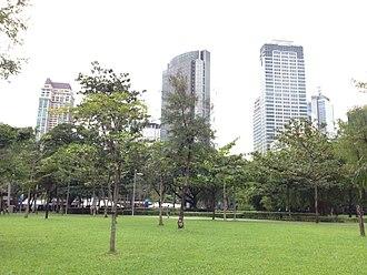 Ayala Triangle Gardens - Image: Ayala Triangle Gardens