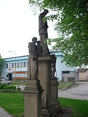 Sochy svatého Jana Nepomuckého, Vendelína a Antonína