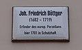 Böttger Johann Friedrich Wittenberg Schloßstraße14 klein.jpg