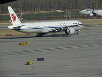 B-2031 - B77W - Air China