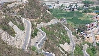 B.P. Koirala Highway - Image: B.P. Koirala Highway