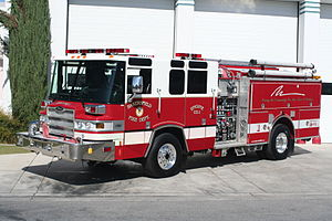 Bakersfield Fire Department - BFD Engine 1