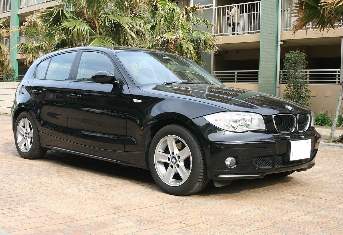 bmw 1 serie wikipedia den frie encyklop di. Black Bedroom Furniture Sets. Home Design Ideas