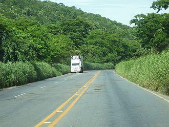 BR-364 - Section in the Serra de São Vicente of Mato Grosso