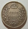BRITISH GUIANA, GEORGE V, 1936 -FOUR PENCE a - Flickr - woody1778a.jpg