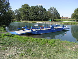 Ferry on the Charente