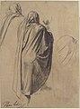 Back View of a Male Figure Wearing a Cloak MET 1983.304.jpg