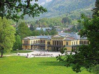Kaiservilla - Image: Bad Ischl Kaiservilla 4