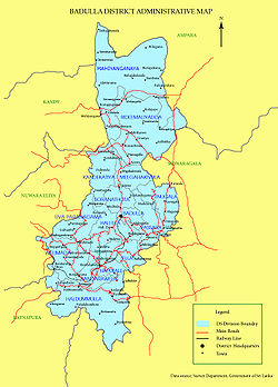 Badulla District #