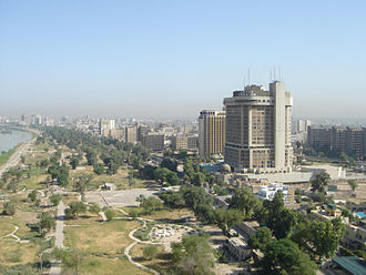 Green Zone - Image: Baghdad Red zone