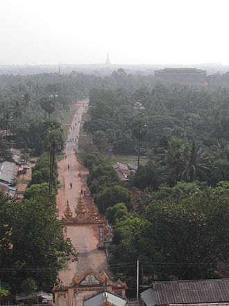 Bago, Myanmar - View from Mahazedi Pagoda