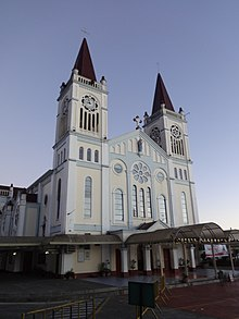 Baguio Cathedral - side view 2 (Baguio, Benguet)(2018-11-26).jpg