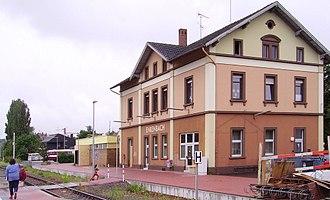 Alsenz Valley Railway - Enkenbach station