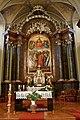 Baja, belvárosi római katolikus templom belső tere 2021 02.jpg
