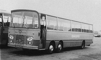 Thomas Harrington & Sons - Bakers Dolphin Harrington Legionnaire bodied Bedford VAL