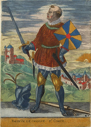 Baldwin II, Margrave of Flanders - Baldwin II from the 16th century