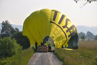 Ljubljana Marshes - A balloon landing in the marsh